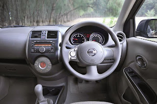 new Nissan sunny Dci interior view