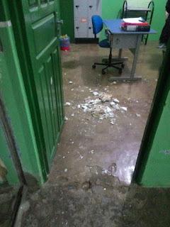 Escola é invadida na noite desta sexta-feira (08) em Nova Floresta
