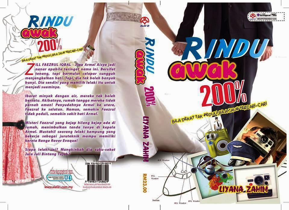 SINOPSIS NOVEL RINDU AWAK 200%