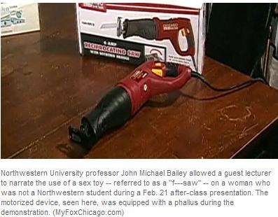 northwestern university sex toy demonstration