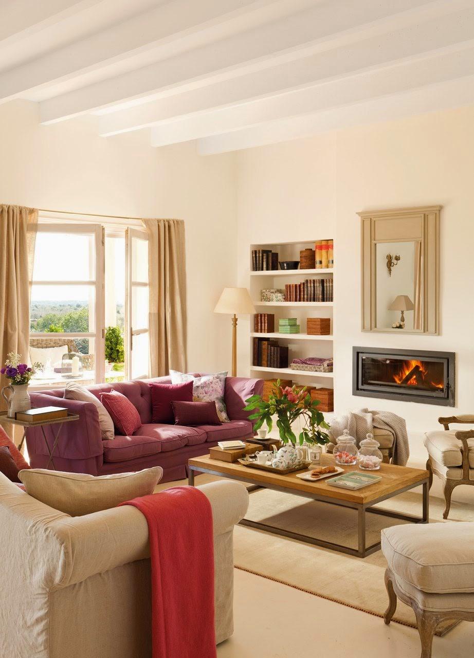 Stebbing house desing salones con chimenea - Sofas para salones ...