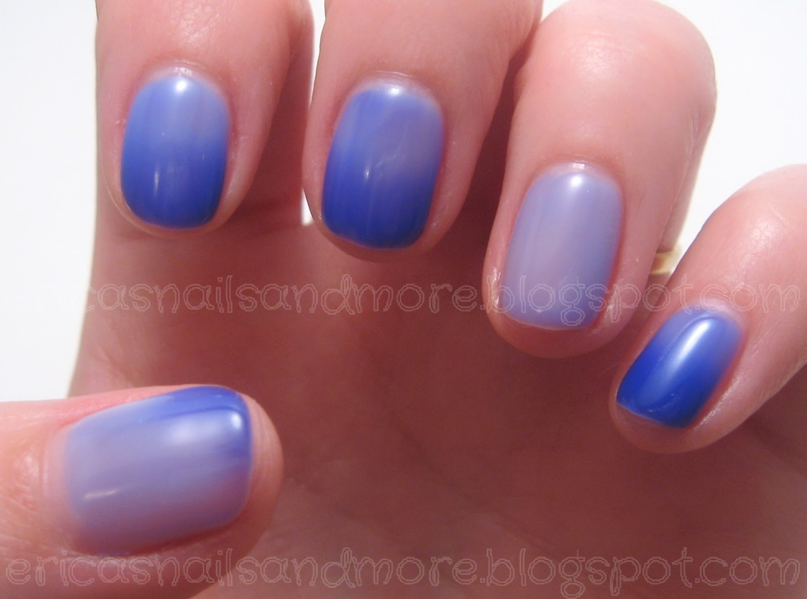 Erica\'s Nails and More: Gel II Rip Tide
