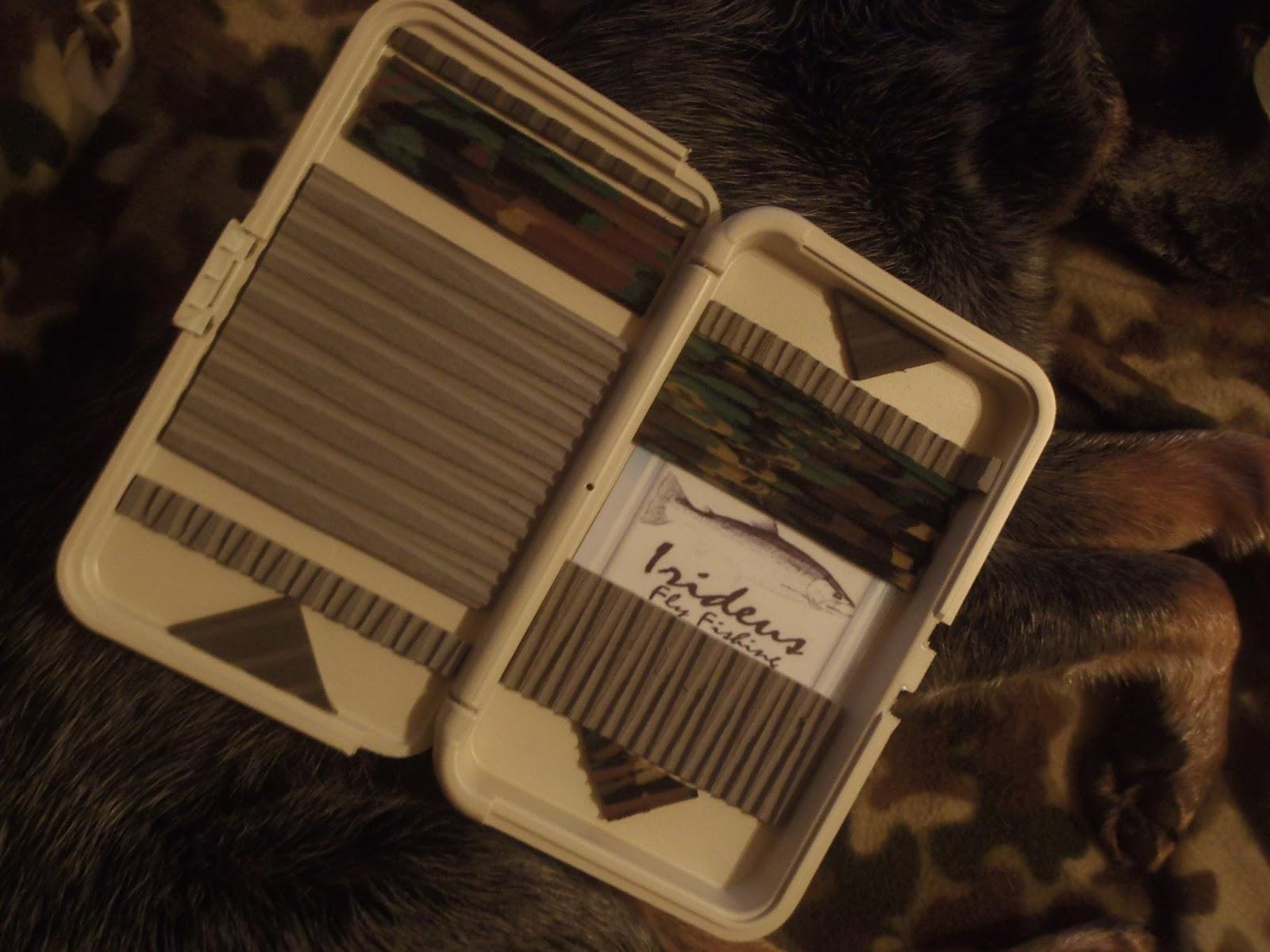 Irideus fly fishing products irideus brings some 2013 for Fly fishing box