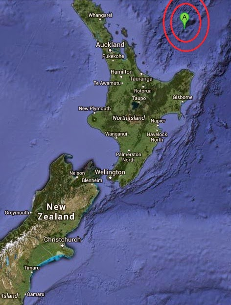 Magnitude 5.3 Earthquake of Tairua, New Zealand 2014-09-21