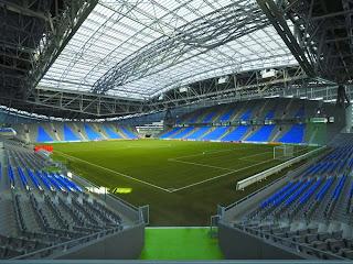 Futuristic Architecture Astana Arena