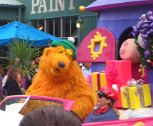 Disney Characters Christmas Parade