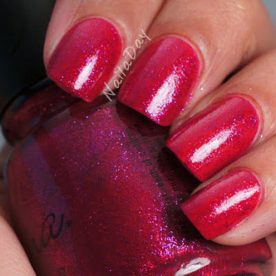 NailaDay: Savina Sangria over SC Folly