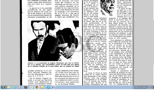 Los argumentos de Madrid hace 38 años (ABC, 05/03/1976)
