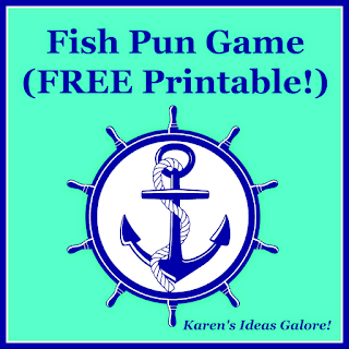 Fish Pun Game with Free Printable