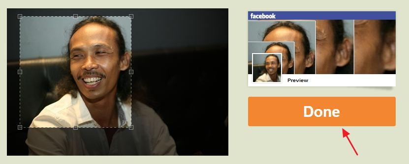 Cara Membuat Foto Profil Menyatu dengan Foto Sampul Facebook