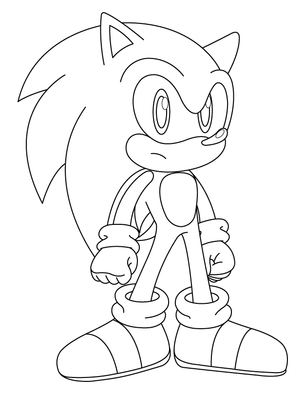 Worksheet. Cartoons Coloring Pages Sonic Coloring Pages