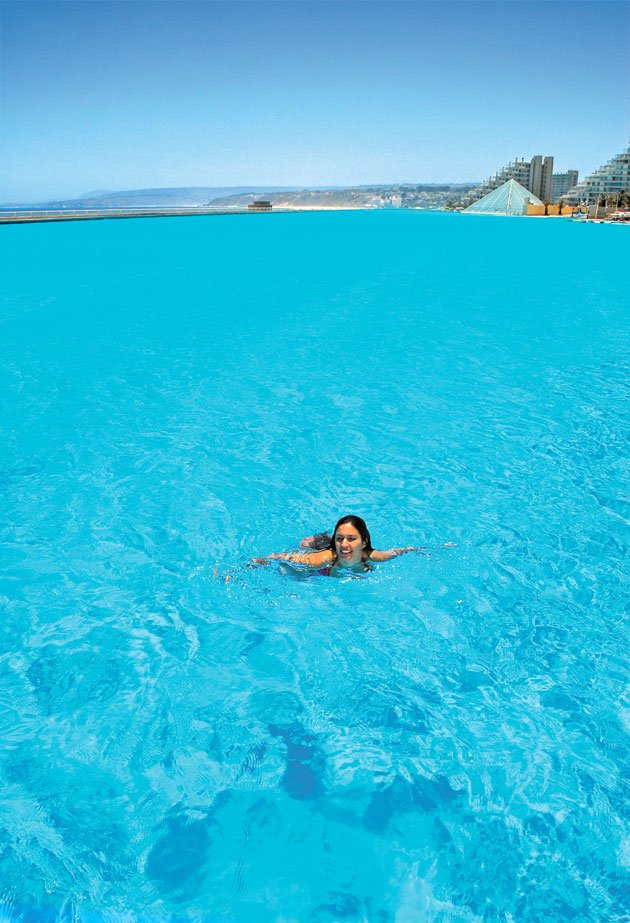 World Largest Outdoor Swimming Pool San Alfonso Del Mar