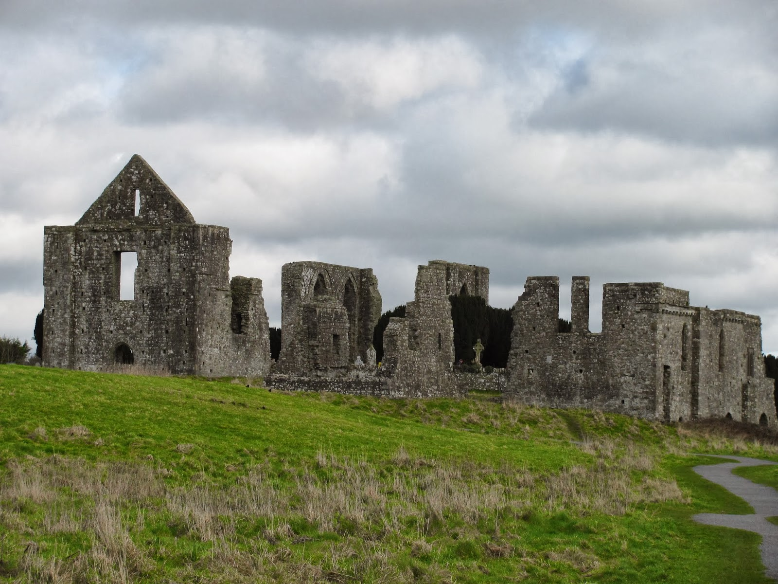 Sts. Peter and Paul Cathedral Ruins in Trim, Ireland