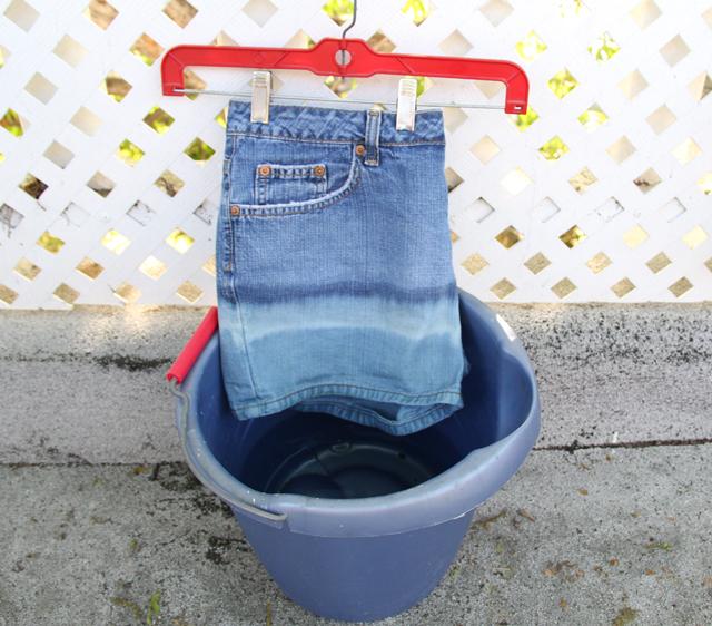 Если отбелить джинсы в домашних условиях 500