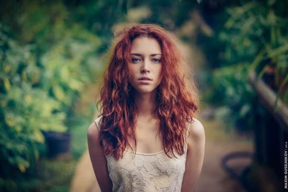 Maxim Guselnikov fotografia mulheres sensuais modelo russa Anna Zabolotskaya