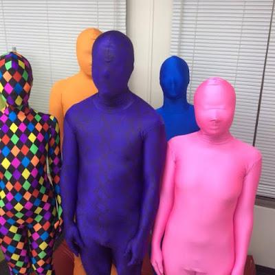 Komunitas Zentai dengan Kostum Zentai