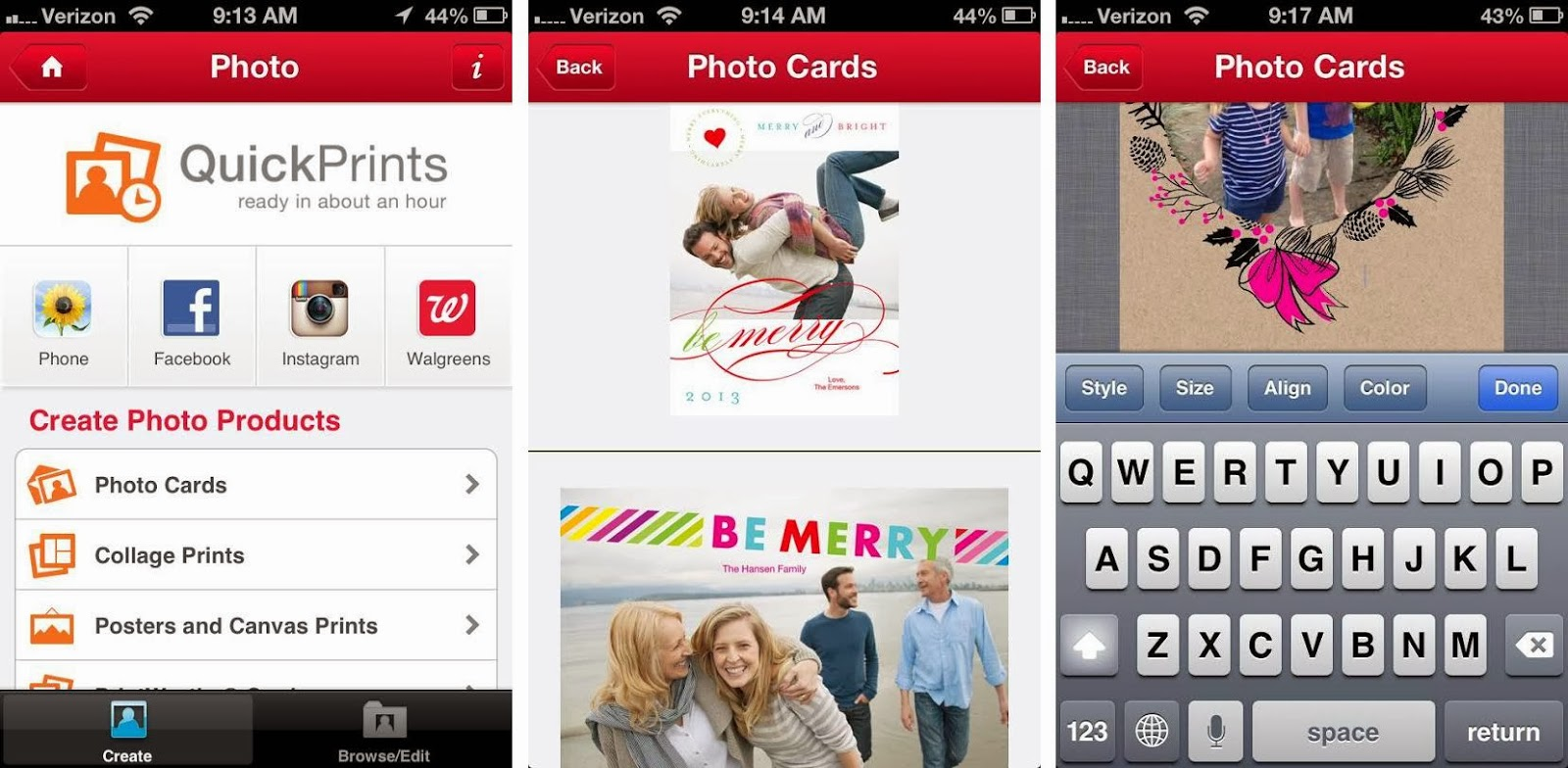 Lines Across Reviews Printing Holiday Cards With The Walgreens