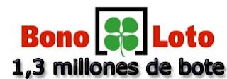 Bote de la bonoloto para el martes 9 de abril de 2013