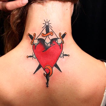 Significado tatuagem de coração com punhal