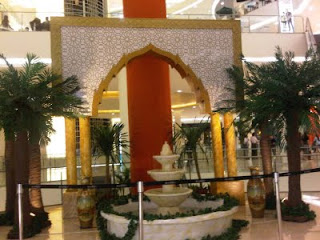 My journey ramadhan decoration at the mall in jakarta 2011 for Dekorasi birthday di hotel