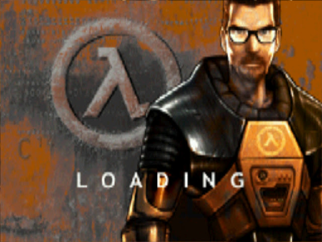 Half-Life Uplink loading screen