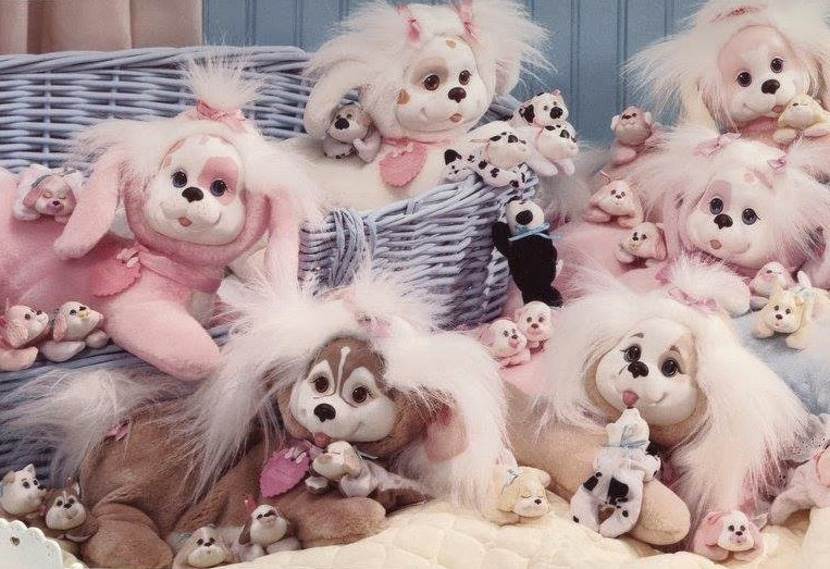 Retro Puppy surprise dolls from 1991. (Photo credit: Hasbro, provided by Pranceatron and Ghost of the Doll):