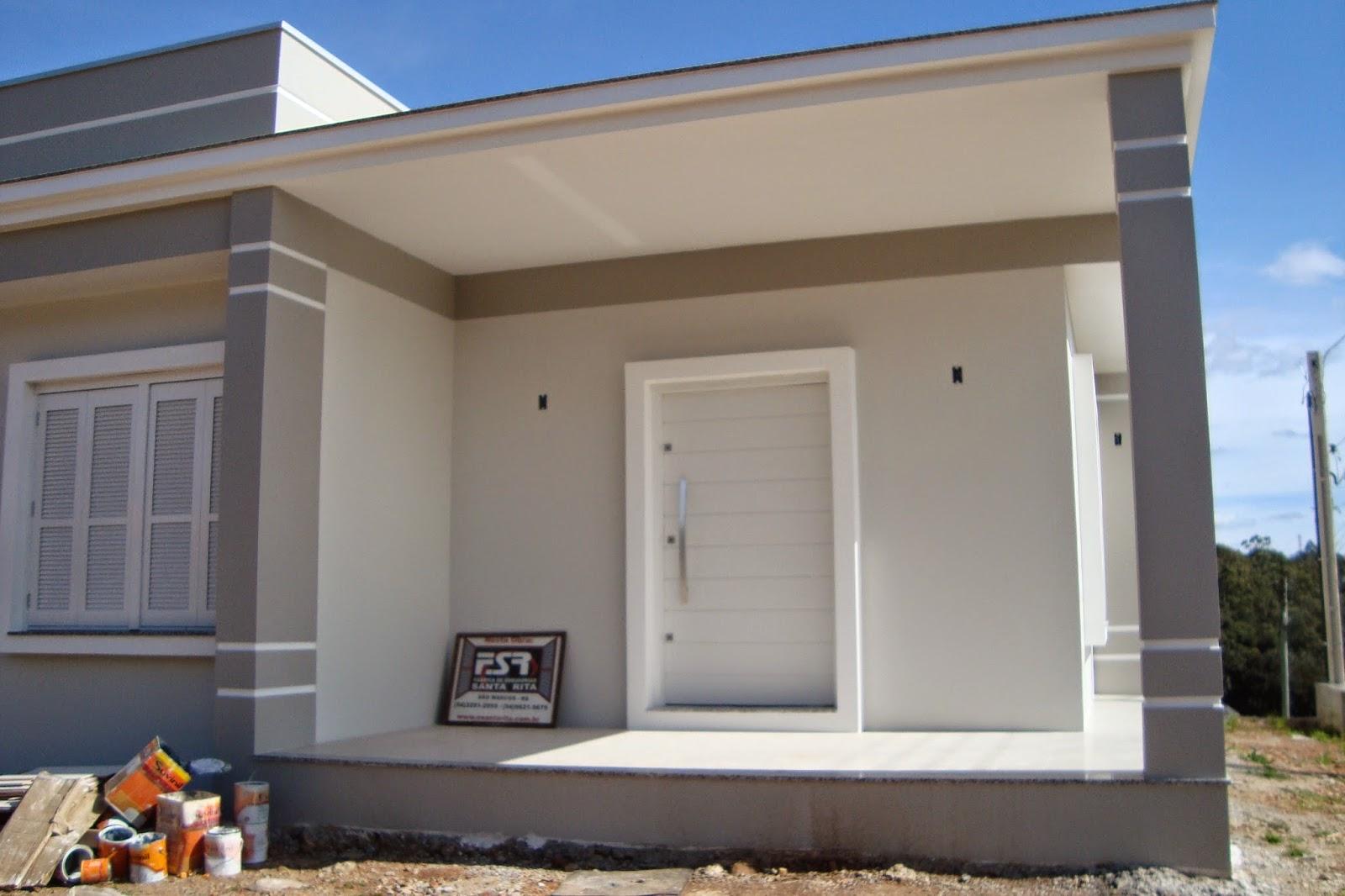 A casa da claudia casa pintada editado com as cores - Pinturas para fachadas exteriores fotos ...