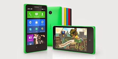 Nokia X Android 3G Smartphone in various colors | topicswhatsoever.blogpsot.com