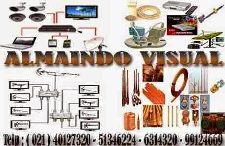 Almaindo Visual Agen dan Jasa Pemasangan Antena Tv,Parabola,Cctv,Penangkal Petir