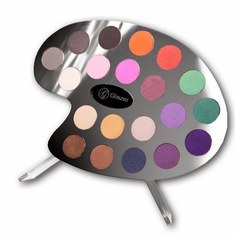 Analiza kolorystyczna - Paleta cieni