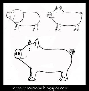 Tutorial De Dibujo Paso A Paso Animales Cartoon