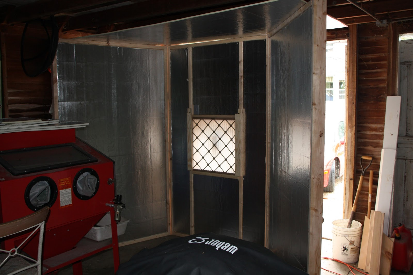Projects For The Home How To Build A Paint Booth For Your Garage