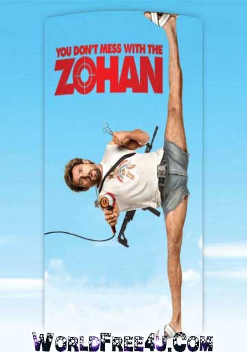 Poster Of You Don't Mess with the Zohan (2008) In Hindi English Dual Audio 300MB Compressed Small Size Pc Movie Free Download Only At 300Mb.cc