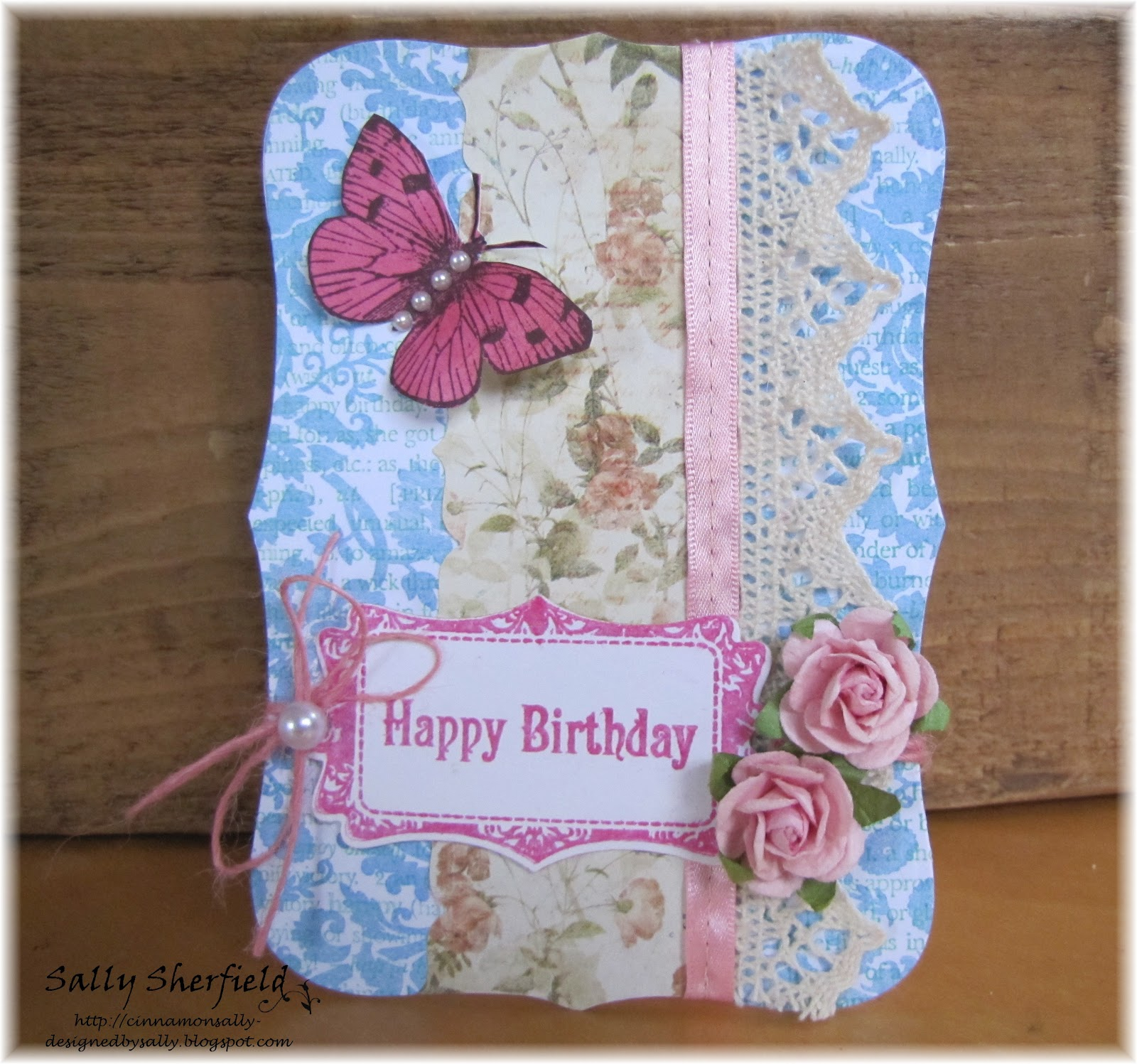 Cinnamon Sally Designs: Two challenges, two cards!!