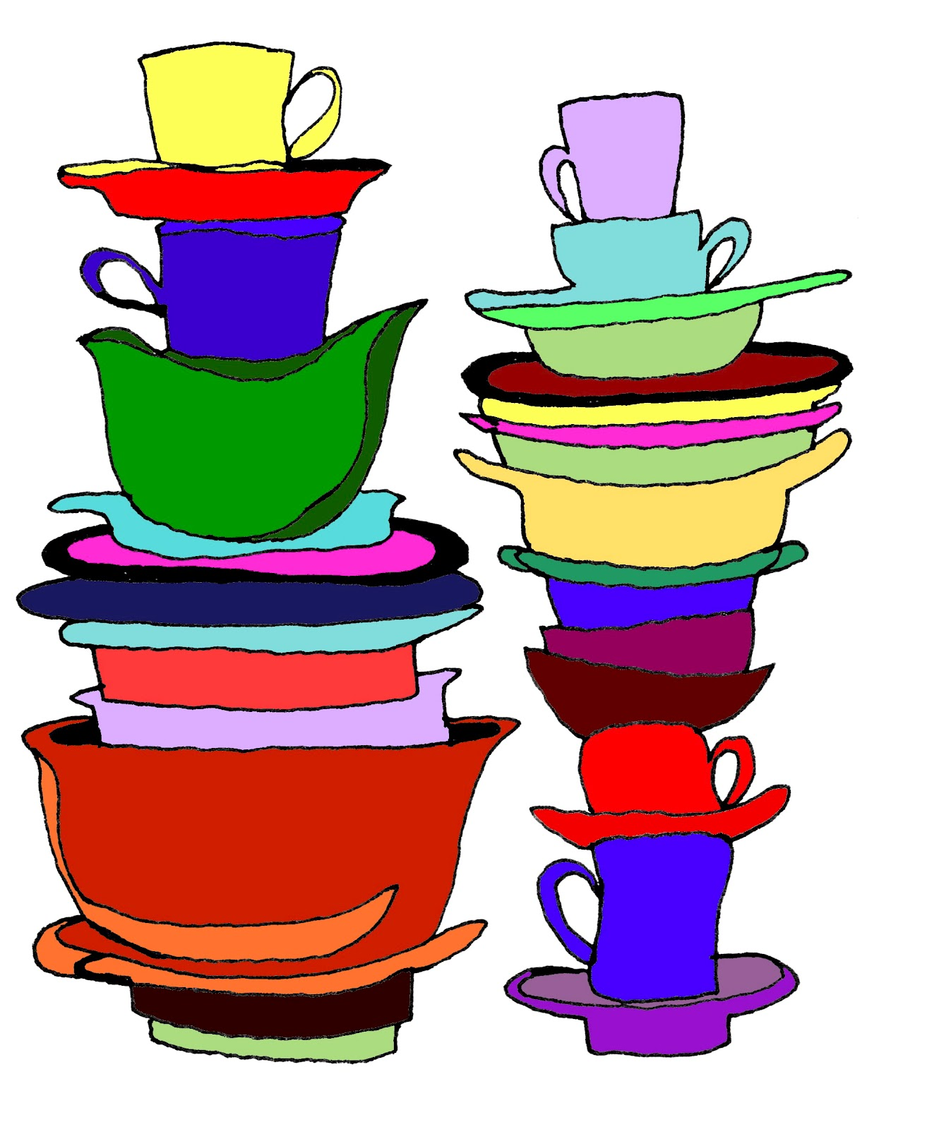 Watch more like Stack Of Bowls Clip Art