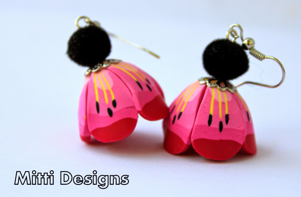Tutorial, DIY, Flower Earrings, Light -box, Photo-box, step by step, how to, simple , easy, cheap idea, photography, jewelry photo