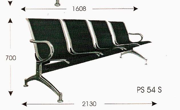 harga kursi tunggu stainless steel bandung