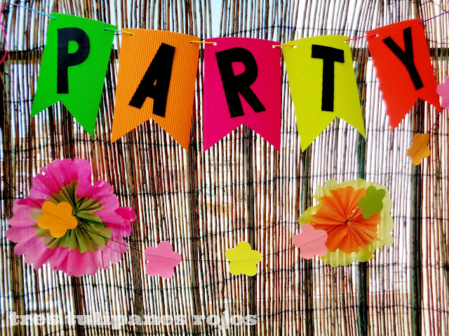 Ideas para fiesta en colores neón