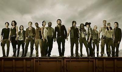 5 Temporadas completas The Walking Dead