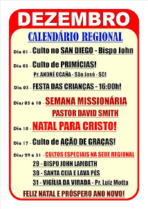 Calendário Regional