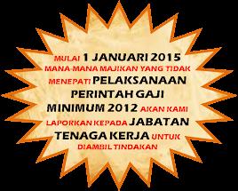 Perintah Gaji Minimum