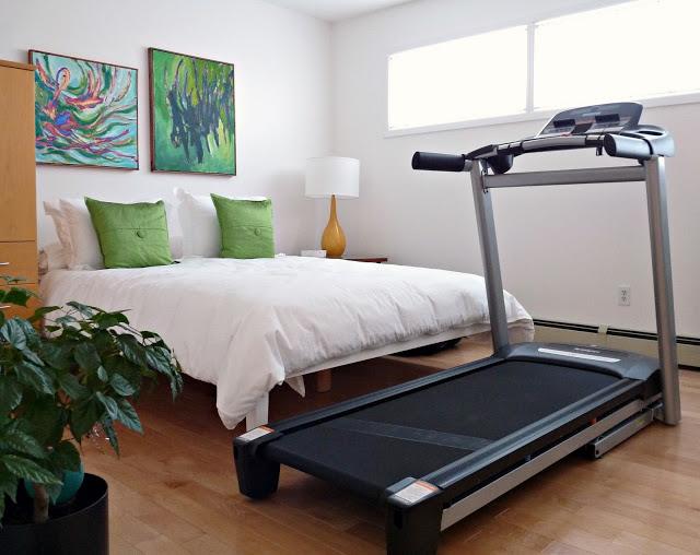 NO EXERCISE EQUIPMENT IN BEDROOM