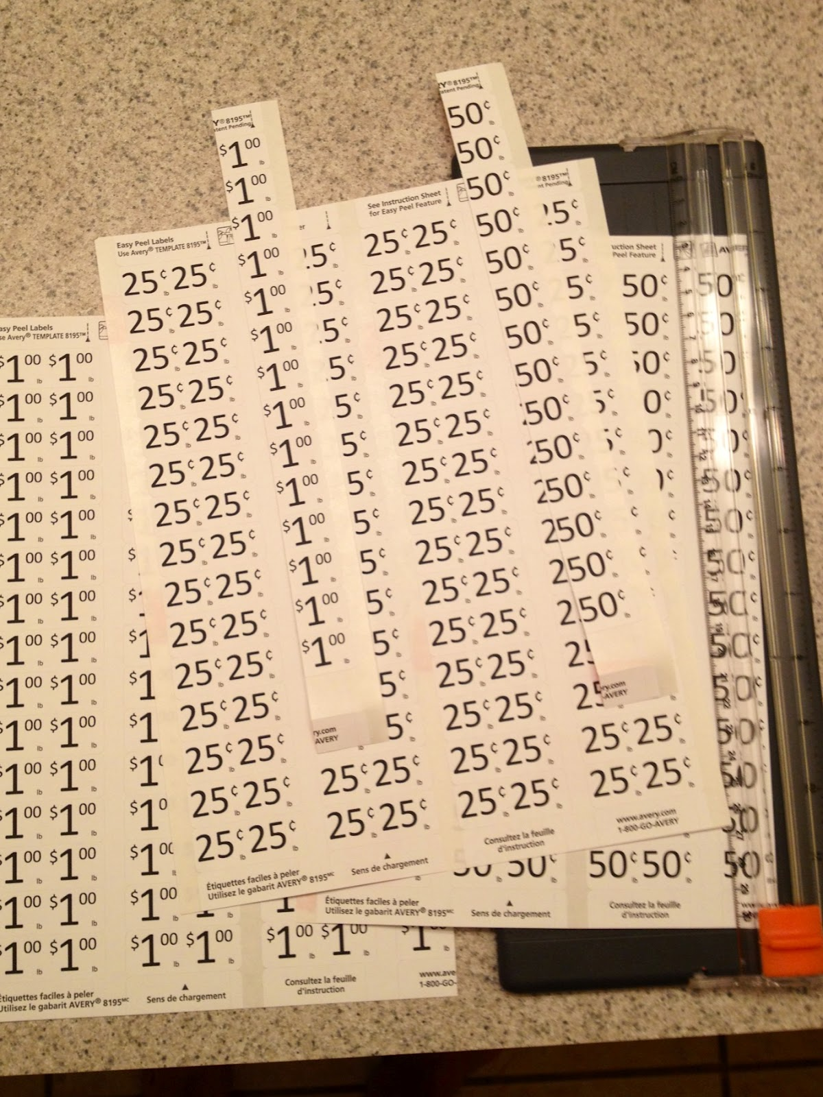 This is an image of Remarkable Garage Sale Price Tags Free Printable