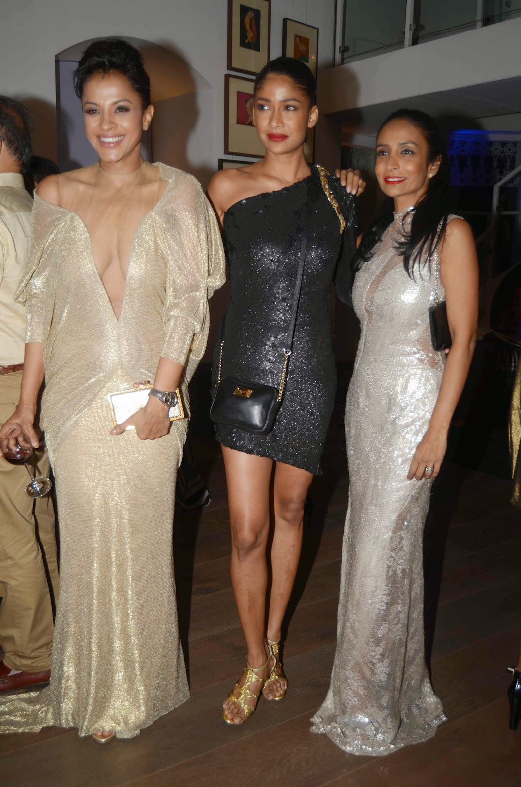 Celebs at Fashion Designer Gaurav Gupta's Store Launch Pics