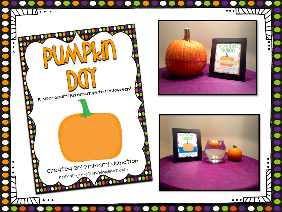 http://www.teacherspayteachers.com/Product/Pumpkin-Day-394296