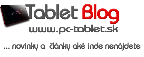 Tablet Blog - Jedinen blog o tabletoch