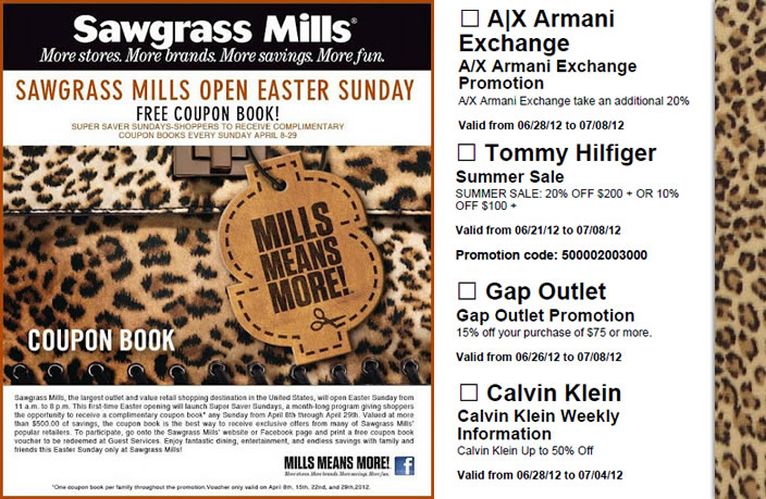 SAVE BIG at Sawgrass Mills with deals from top retailers like Bath & Body Works, Tommy Bahama Outlet, Champs Sports Sawgrass Mills, coupon codes, code, discounts, coupons, promotional, promo, promotion, deal, coupon app, deal app, coupon app.