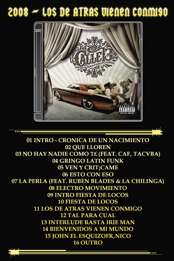 Calle 13 - Discografia de estudio - 320 kbps [Mega]