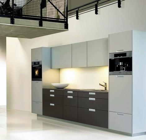 Cocinas lineales: grandes y pequeñas   cocinas con estilo