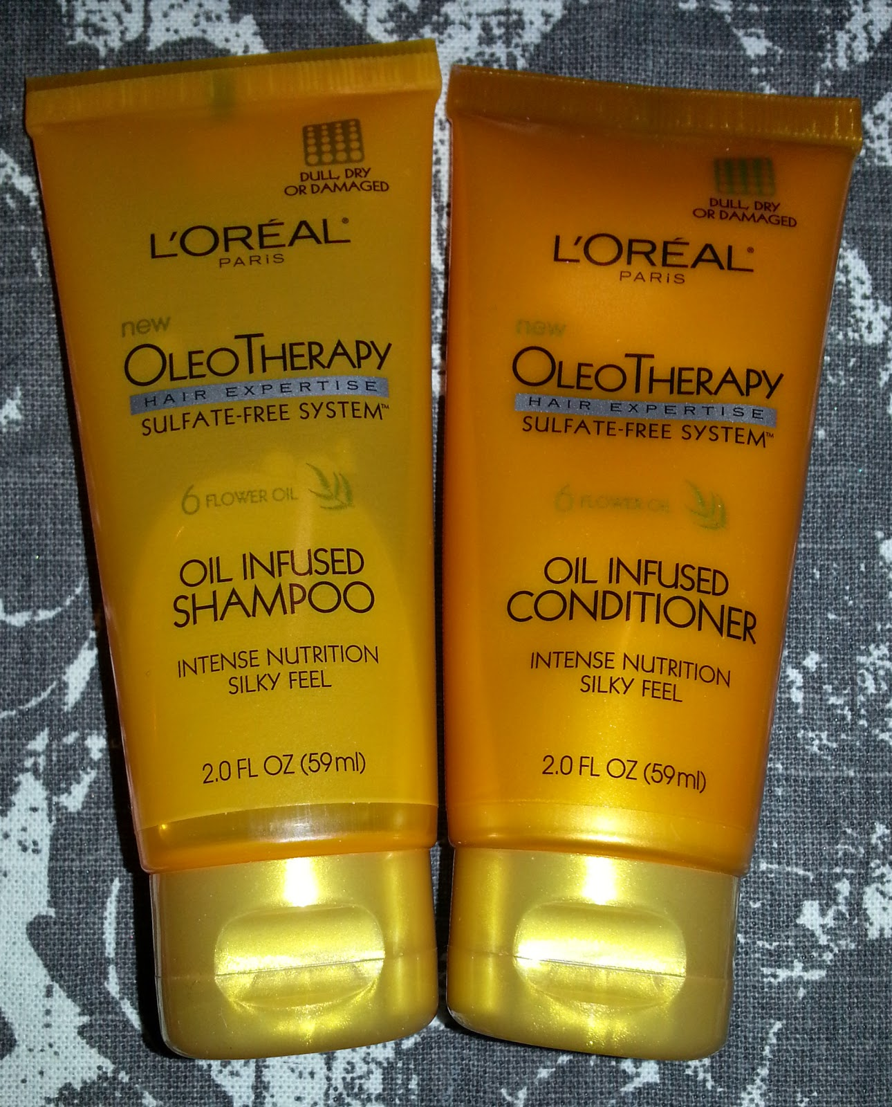 L'Oreal Oleo Therapy Oil Infused Shampoo and Conditioner